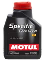 MOTUL SPECIFIC VW 505 01 502 00 5W40